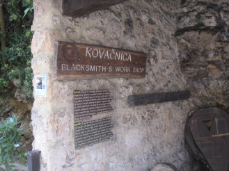 Black Smith workshop - Krka National Park - Croatia