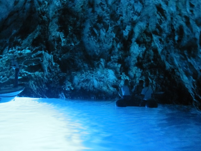 Blue grotto - Croatia