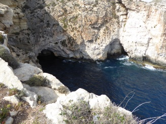 Blue Grotto, the crystal clear watered cave - Malta