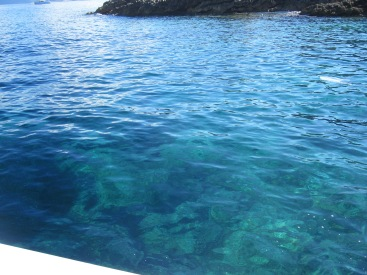 Crystal clear water - Adriatic Sea - Croatia