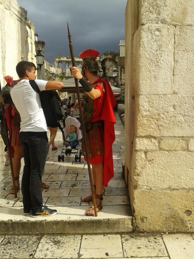 Diocletian Roman guard costume - Split - Croatia