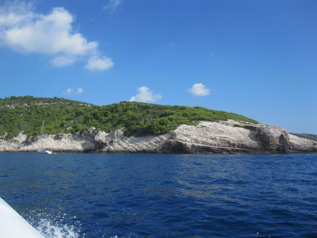 Eroded cliffs - Vis - Croatia '