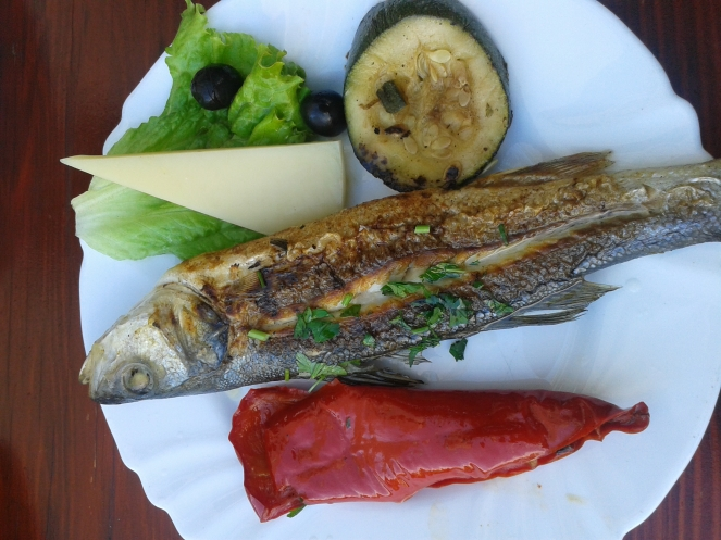 Fish at Fife Café - Split - Croatia