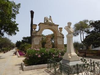 Floriana garden Malta