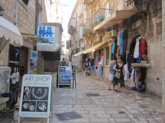 Handcraft shops - Hvar - Croatia