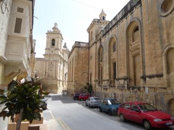 Ir Rabat streets Malta