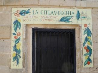 Lace handcraft shop L Imdina Malta