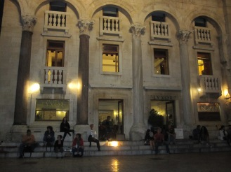 LVXOR Café by night - Split - Croatia