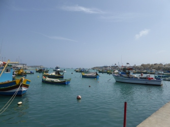 Marsaxlokk barks Malta