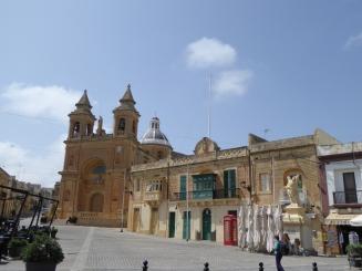 Marsaxlokk church Malta