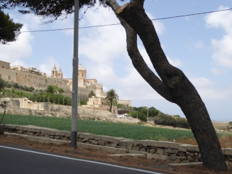 On the way to Mdina - Malta