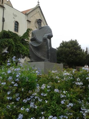 Petar Krešimir IV statue - King of Dalmatia - Sibenik - Croatia