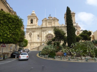 Saint Lawrence church Vittoriosa Malta