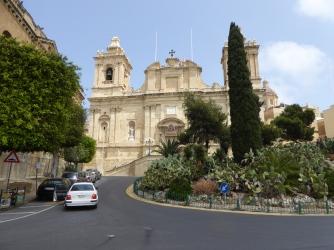 Saint Lawrence church Vittoriosa Malta