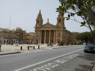 San Publiju church Floriana Malta