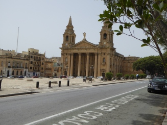 San Publiju church Floriana Malta