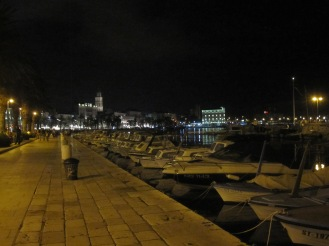 Split Riva by night - Split - Croatia