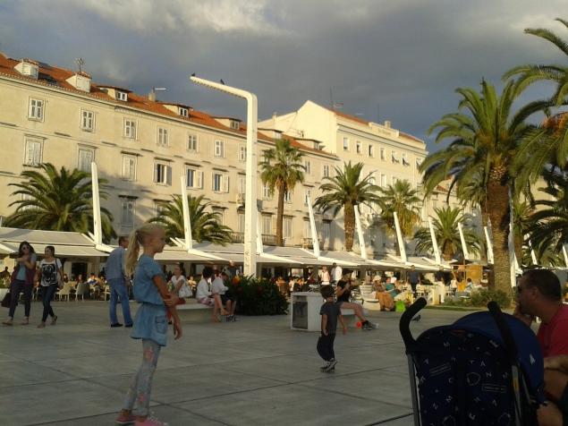 Split Riva daylight - Split - Croatia
