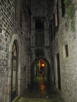 Split streets by night - Split - Croatia
