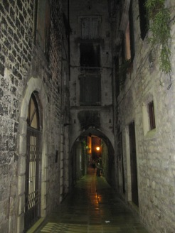 Split streets by night - Split - Croatia
