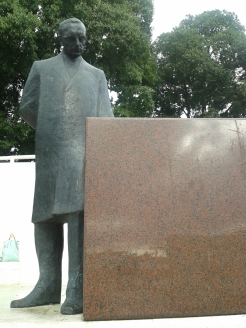 Statue of Franjo Tuđman - 1st president of Croatia after Croatia's independance - Croatia
