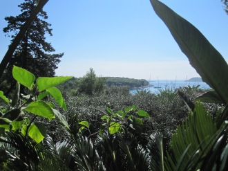 View from Meneghello Restaurant - Hvar - Croatia