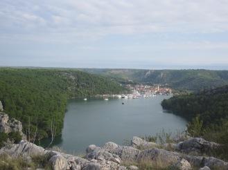 View from Sibenik - Croatia