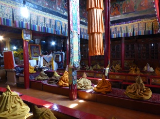 Study and prayer room for the monks at Likir Monastery