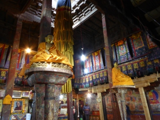 Inside the Thiksey Monastery