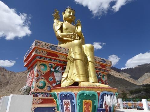 Likir village Buddha