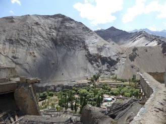 On top of the Lamayuru village