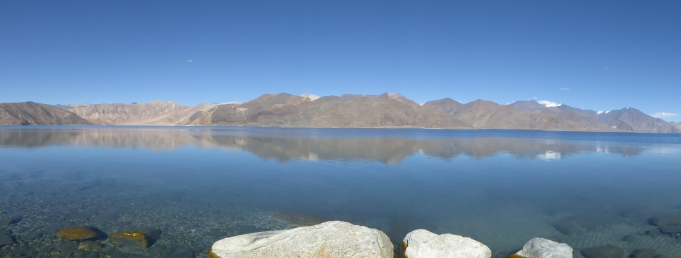 Another panoramic view of the lake