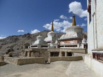 Stupas in the Lamayuru Village
