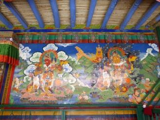The two other cardinal kings at Lamayuru Monastery