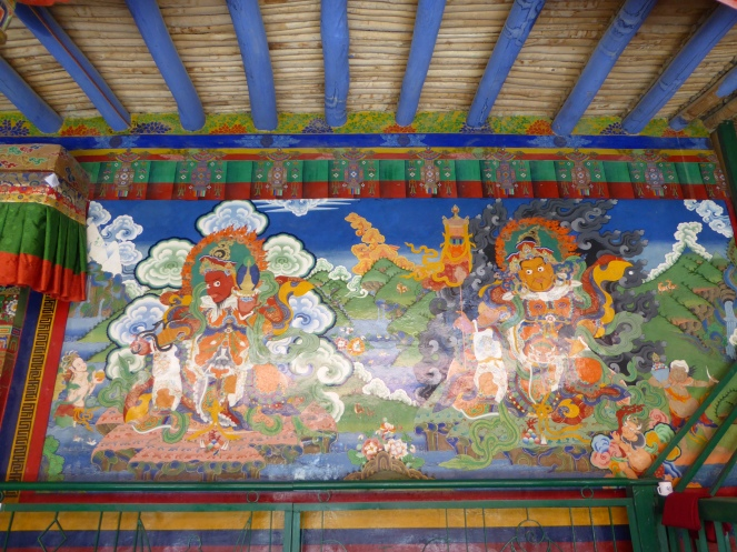The two other cardinal kings at Lamayuru Monastery