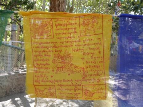 Tibetan prayer at Alchi Village