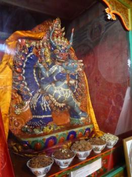 Vajrabhairava Statue at Thiksey Monastery