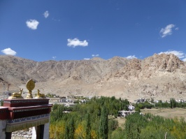 View from the Phyang Monastery