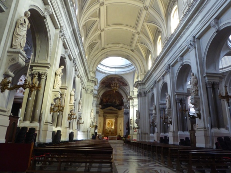 Italy - Sicily - Palermo - Cathedral of Palermo's aisle