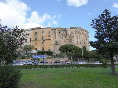 Italy - Sicily - Palermo - Palazzo dei Normanni - Outer view