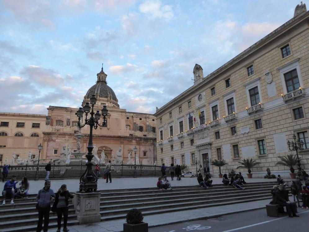 Italy - Sicily - Palermo - Piazza Pretoria