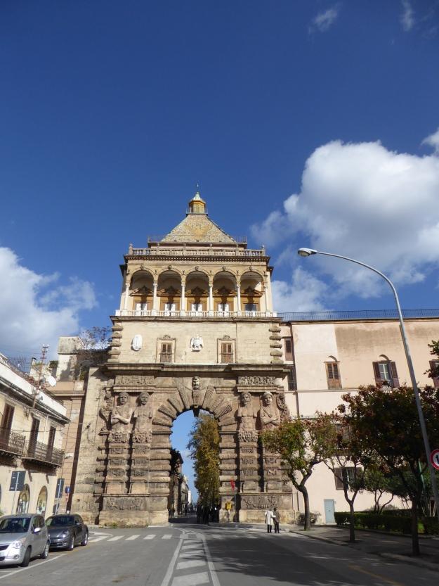 Italy - Sicily - Palermo - Porta Nuova '