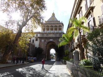 Italy - Sicily - Palermo - Porta Nuova