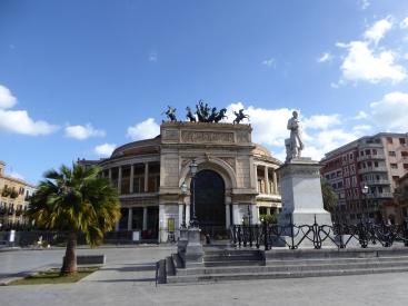 Italy - Sicily - Palermo - Teatro Politeama